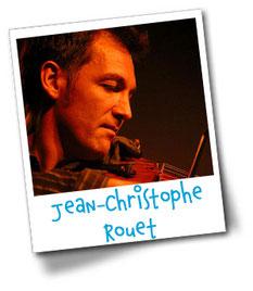 Jean-Christophe Rouet, professeur de violon à l'Ecole de musique Selloise - Cours de musique à Selles-sur-Cher