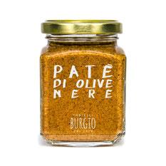 Patè de aceitunas negras BIO en bote de 90gr (Burgio-Sicilia) 6,50€