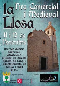 Programa del Mercado Medieval de la Llosa