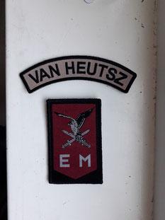van Heutsz emblemen onderdeelsemblemen straatnaam
