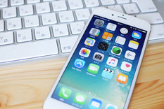 スマートフォンとパソコン