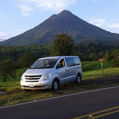 Private transportation to any hotel in Arenal Volcano area