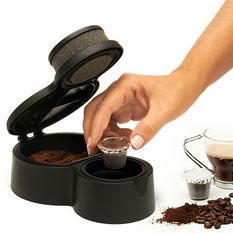 capsulas de cafe Nespresso reutilizables www.invertirenfamilia.com