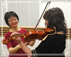 横浜市青葉区田園都市線青葉台バイオリン・ビオラ教室 個人レッスン内容