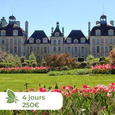 Les ânes de Madame - Balades accompagnées en Sologne, Val de Loire, châteaux de Chambord, Cheverny, Villesavin, du Moulin - Randonnées itinérantes Nuit au château
