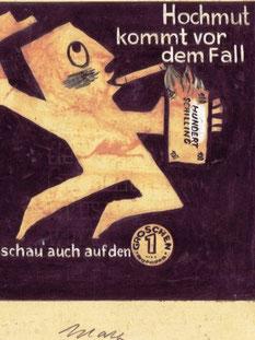 Entwurf Dia-Werbung 1958