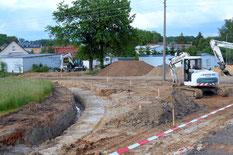 Bild: Teichler Seeligstadt Baustelle Chronik 2016