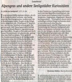 Bild: Seeligstadt Teichler Chronik 2014