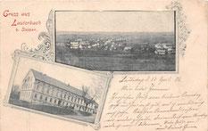 Bild: Teichler Seeligstadt Lauterbach 1902