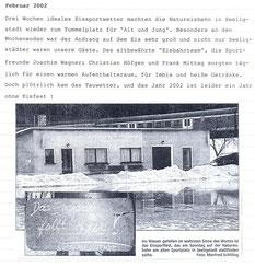 Bild: Teichler Seeligstadt Chronik 2002