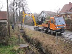 Bild: Teichler Seeligstadt Chronik 2013  Flutgraben