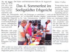 Bild: Teichler Seeligstadt Chronikn 2013