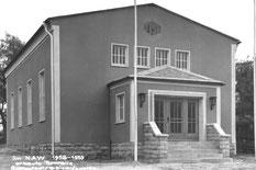 Bild: Teichler Turnhalle Seeligstadt 1960
