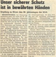Bild: Teichler Seeligstadt Chronik 1986