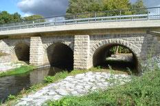 Bild: Teichler Wesenitzbrücke Seeligstadt Rennersdorf