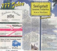 Bild: Seeligstadt Teichler 2005