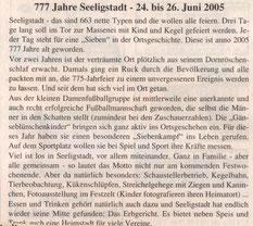 Bild: Teichler Seeligstadt Dorffest 2005