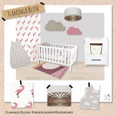 """Kinderzimmer """"Flamingo Blush"""""""