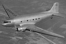 During World War II, the DC-3 was mass produced as a utility transport in C-47