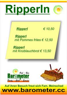Mittwoch Ripperl Frisch Bio Gutes Essen