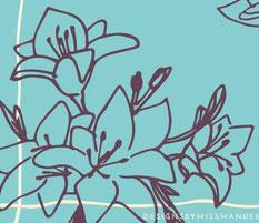 Eater lelies - slakkenpost.nl -Mandee Design