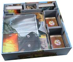 folded space insert organizer spirit island branch & claw jagged earth