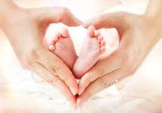 CranioSacral Therpe für Babys - Geburtsnachbetreuung