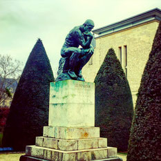 Statua Le Penseur Auguste Rodin Parigi