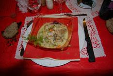 Cassolette de poissons à la Greque