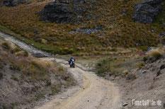 Neuseeland - Motorrad - Reise - Old Dunstan Road - Regen - Dry Weather Track