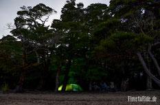 Neuseeland - Motorrad - Reise - Lake Hauroko - Camp