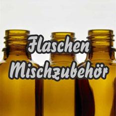Leerflaschen für Liquids und Aromen und Mischzubehör.
