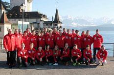Das BÖE Team bei der Europameisterschaft