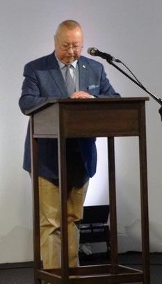 Manfred Schmid (Vorstand der Fördervereins Schauspiel)
