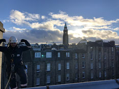 gutter cleaning in edinburgh