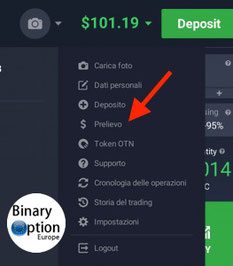 come prelevare da iq option bitcoin