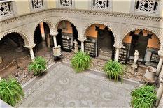 Visite guidée de français deu Palais de la comtesse de Lebrija, Séville, Sevilla