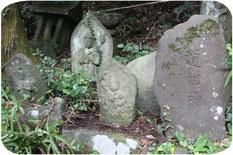 圓光寺の石仏群