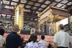 正福寺欄間彫刻と天井画に驚き