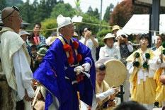 奈良県の金峯山寺からいらした僧侶の皆さん