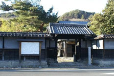 今泉嘉一郎の生家。