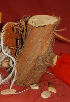 Knöpfe, Holzrohlinge dafür,  Unikate, handgemacht für Hobbyschneiderin, Zierknopf