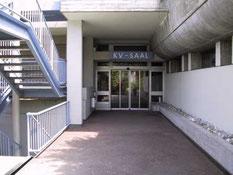 Eingang zur Halle