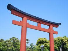 鎌倉の鳥居