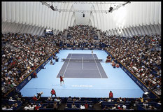 L'Àgora fue ideado para acoger eventos de diversa naturaleza, como campeonatos de tenís.