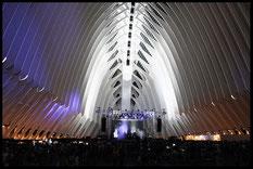 L'Àgora fue ideado para acoger eventos de diversa naturaleza como conciertos y festivales.
