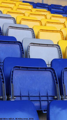 Seats of Camp Nou Barcelona