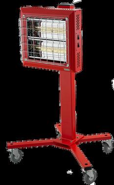 TANSUN Spotter 2x1,5 kW Infrarot Werkstattheizung mobil