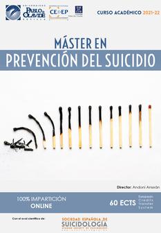 Máster en Prevención del Suicidio. Curso 2019-20.