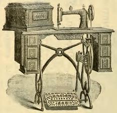 1885  Davis Treadle - Model 2 Head